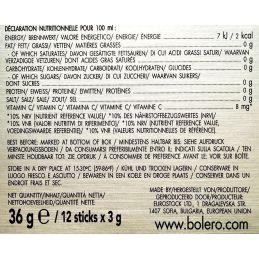Bolero-stick-12*3g-values