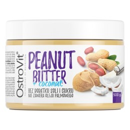 Ostrovit-peanut-butter-coconut-500g