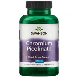 Picolinate de Chrome 200mcg...