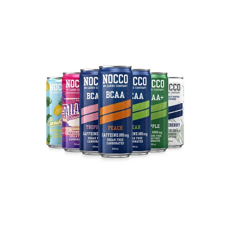 NOCCO Canette BCAA sans sucres - 330ml NOCCO au meilleur ...